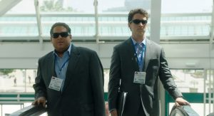 Jonah Hill and Miles Teller star as real-life arms dealers in War Dogs