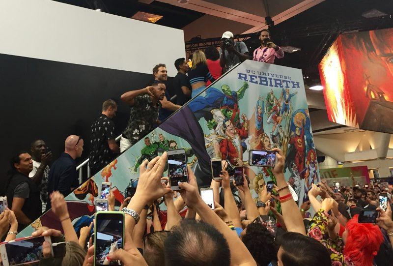 The Suicide Squad cast at San Diego Comic-Con 2016. Photo credit: Erika Olson