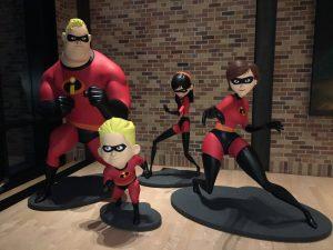 Pixar Animation Studios- Emeryville, CA. The Incredibles Family Photo Credit: Sarah Knight Adamson
