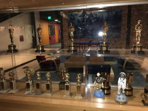 Pixar Animation Studios- Emeryville, CA. Awards case Photo Credit: Sarah Knight Adamson
