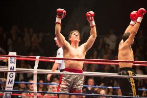 """Miles Teller stars in """"Bleed for This."""" Photo Credit: Open Road Films."""