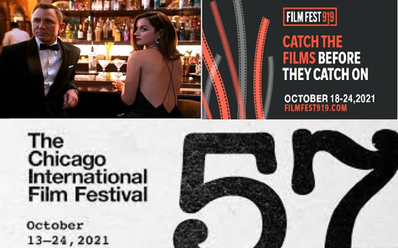 No Time to Die (R) ★★ 1/2 Chicago Film Festival & Film Fest 919 H360 Podcast