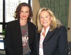 Joan Cusak and Sarah