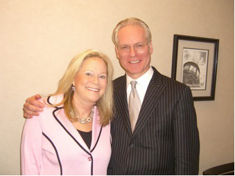 Sarah and Tim Gunn
