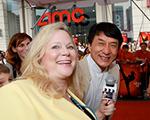 Sarah with Jackie Chan