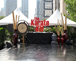 Stage for The Karate Kid Premier