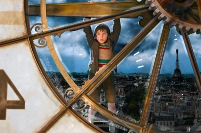 Asa Butterfield plays Hugo Cabret in HUGO, from Paramount Pictures and GK Films. (c) 2011 GK Films, LLC. Photo credit: Jaap Buitendijk. All Rights Reserved.