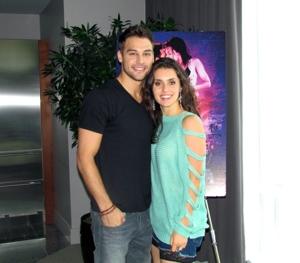 Ryan Guzman and Kathryn McCormick