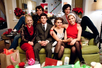 (L to R) Erin Wilhelmi, Adam Hagenbuch, Logan Lerman, Mae Whitman, Exra Miller and Emma Watson star in THE PERKS OF BEING A WALLFLOWER Photo: Courtesy of Summit Entertainment© 2011 Summit Entertainment, LLC.  All rights reserved