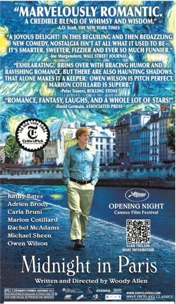 Owen Wilson stars in Woody Allen's