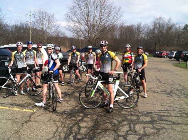 Group ride out of Cuyahoga Valley
