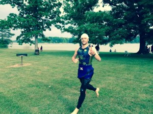 ALEX EXITS WATER AT GREAT WESTERN RESERVE TRI