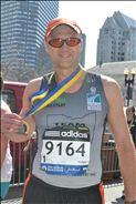 PAUL LENZ 2014 BOSTON MARATHON