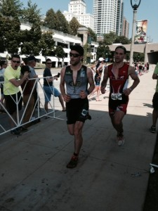 Alex heading to finish at Age Group Nationals