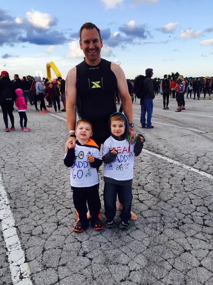 STEVE and kids at Cedar Point 1/2