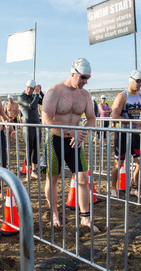 Steve at the start of The Great Buckeye Challenge
