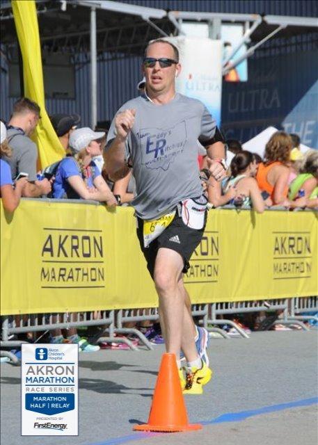 Roy..Akron Marathon