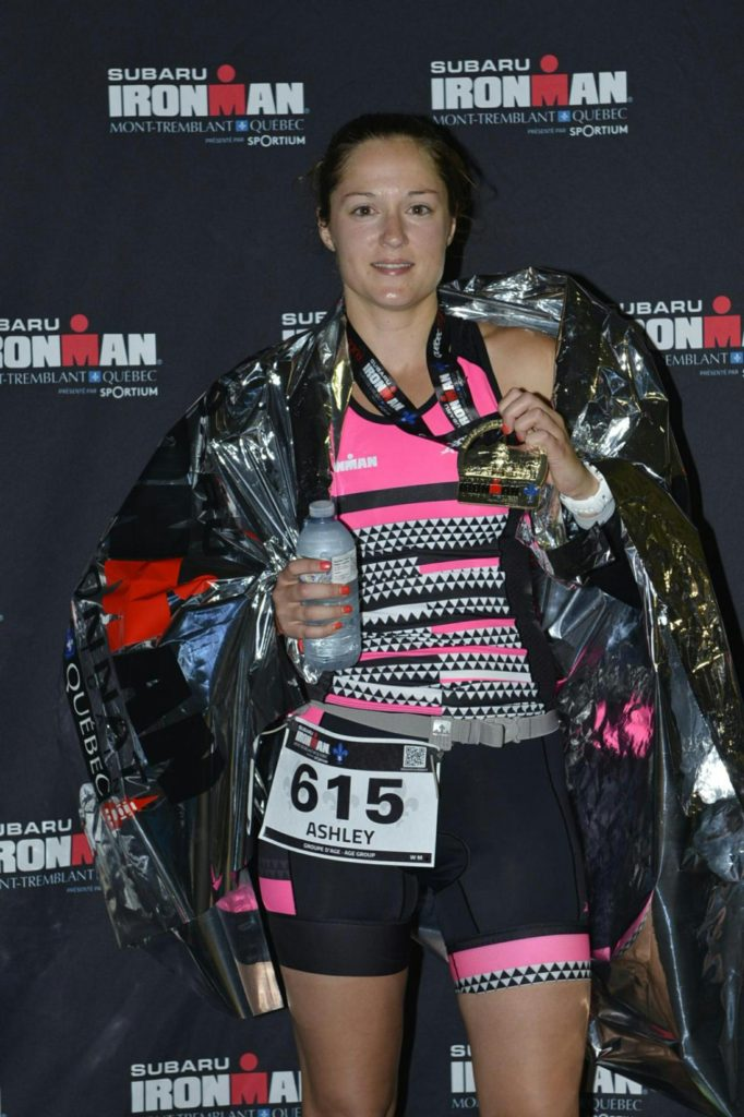 ASHLEY...Mont-Tremblant Ironman finisher