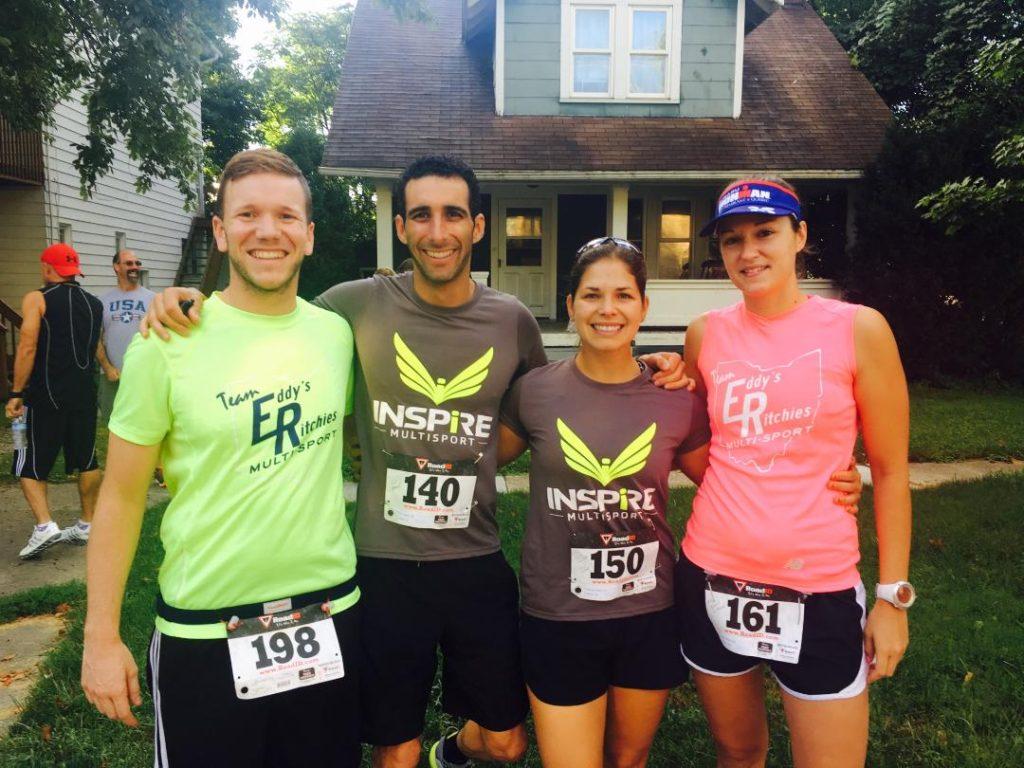 CARLO, GABRIEL, HELEN and ASHLEY.....Cuyahoga Falls Nat 5k