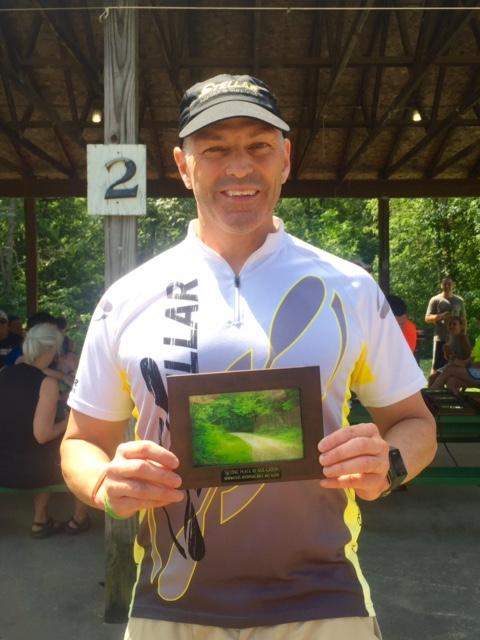 Scott, Headlands Adventure Tri award winner.