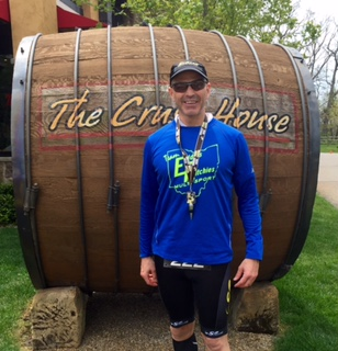 Scott...Sweat Now Wine Later race..Gervasi Winery