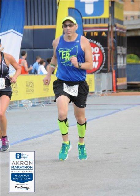 SCOTT...Akron 1/2 Marathon