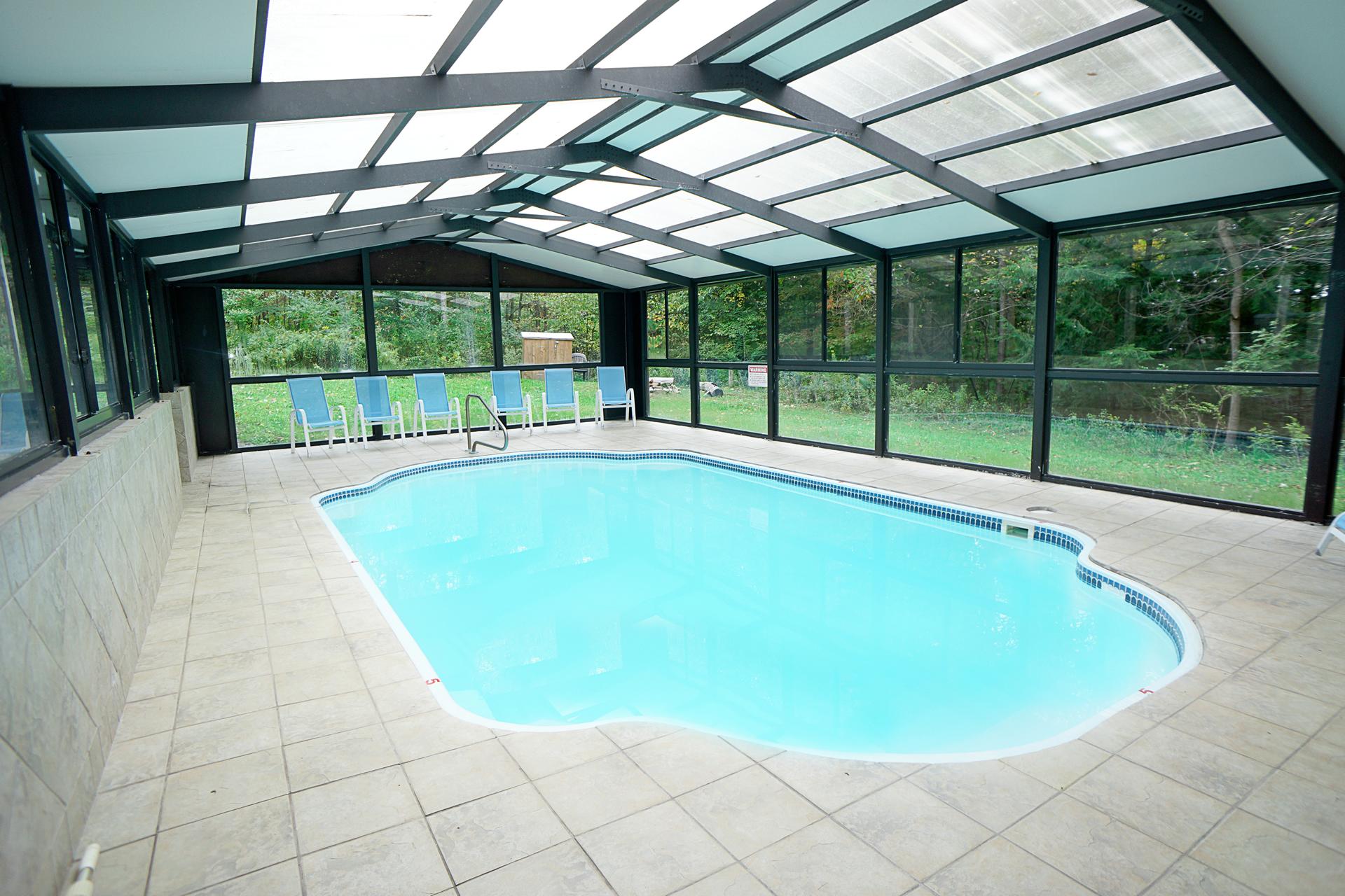deep creek lake vacation home heated indoor pool