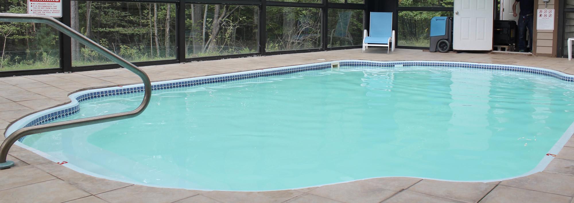 indoor pool deep creek lake rentals