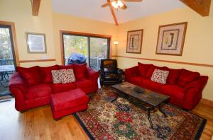 play games or sit in the recliner and watch TV in a cozy den