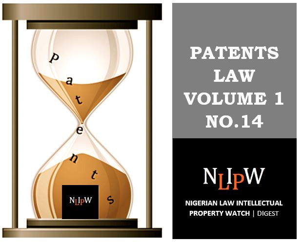 Patents Vol. 1 No. 14