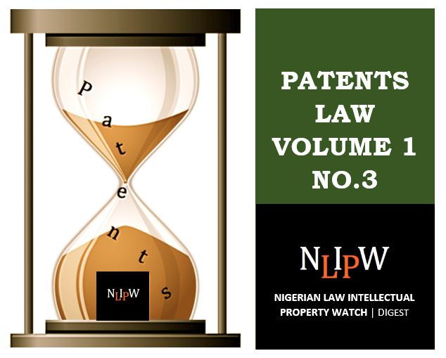 Patents Vol. 1 No. 3