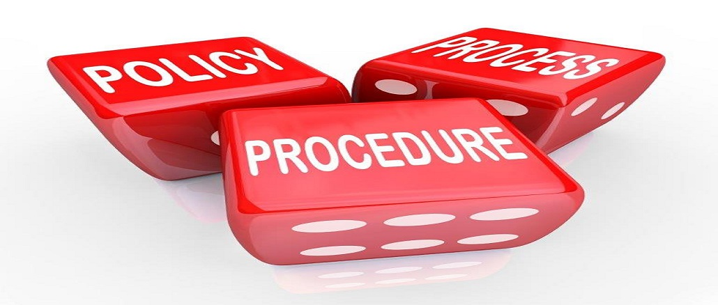 Policy Procedure Process