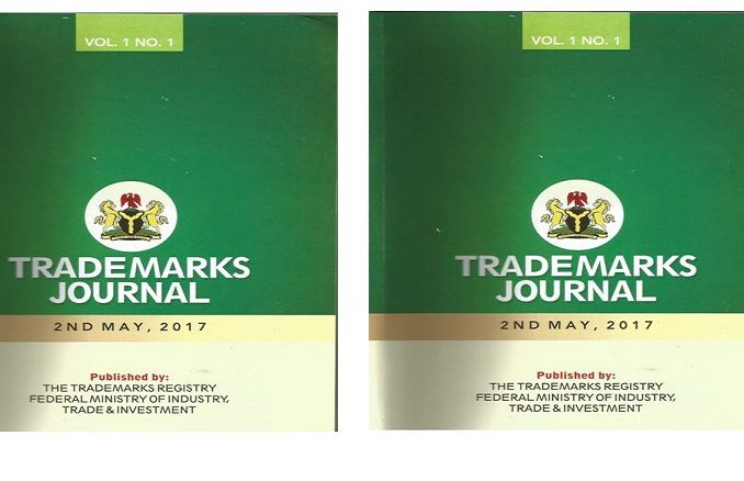 Trademarks Journal Published