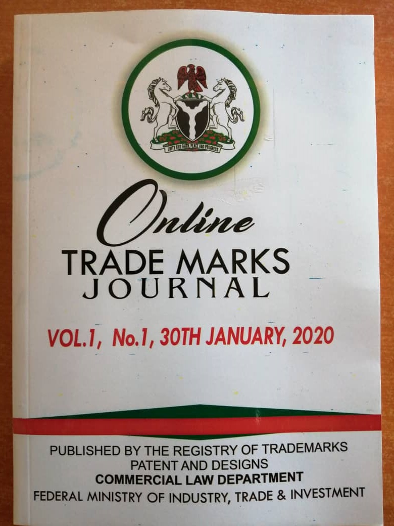 Trademark Publication Nigeria