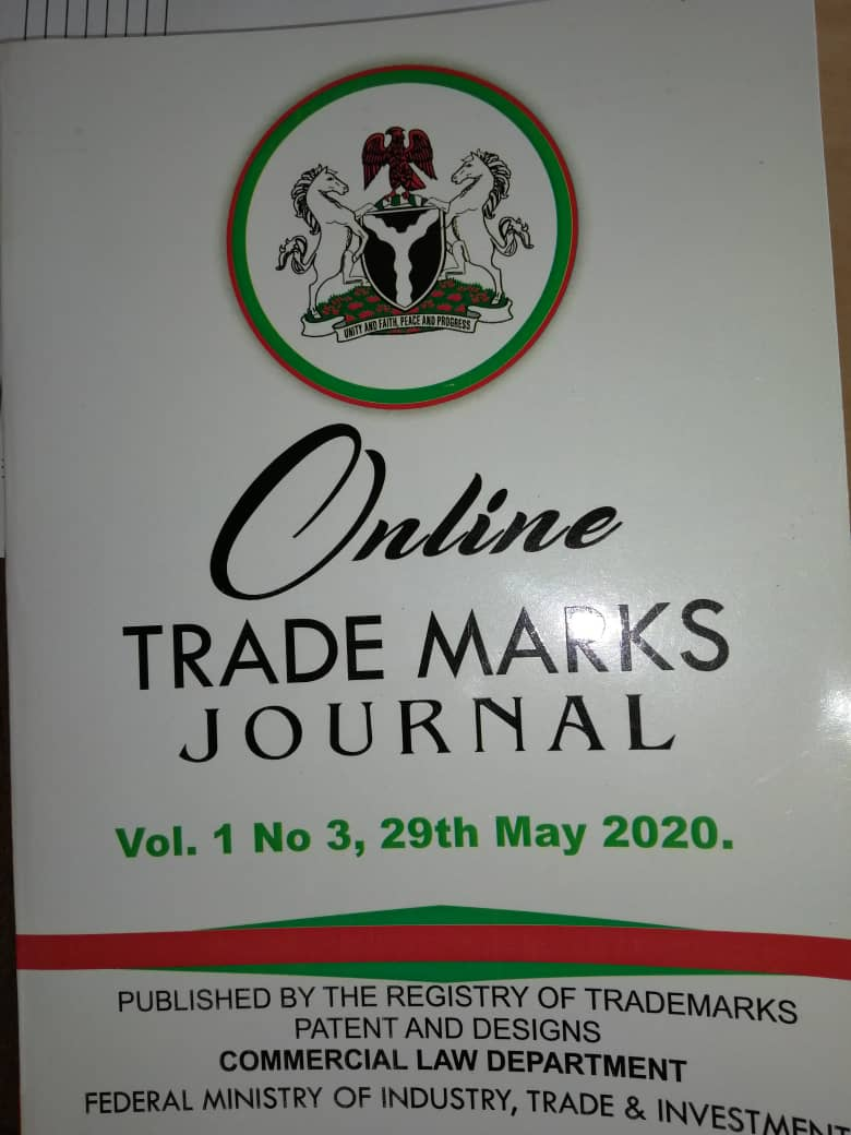 Trademarks Journal May 2020
