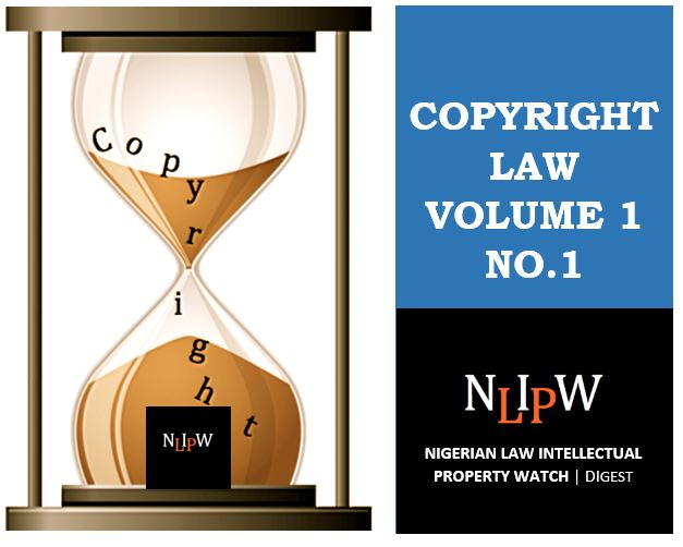 Copyright Vol. 1 No. 1