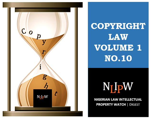 Copyright Vol. 1 No. 10