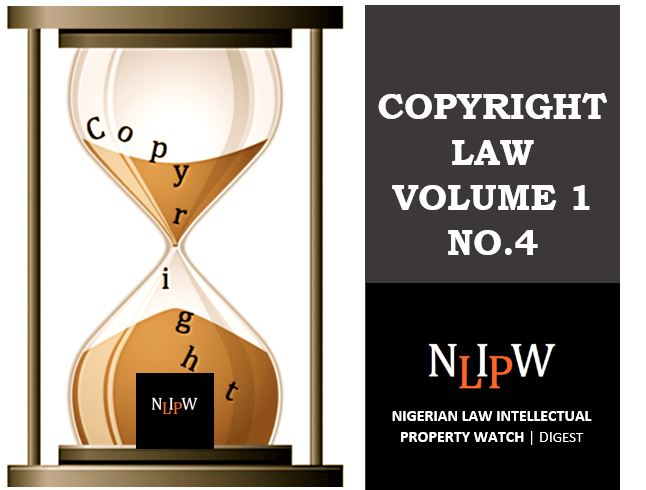 Copyright Vol. 1 No. 4