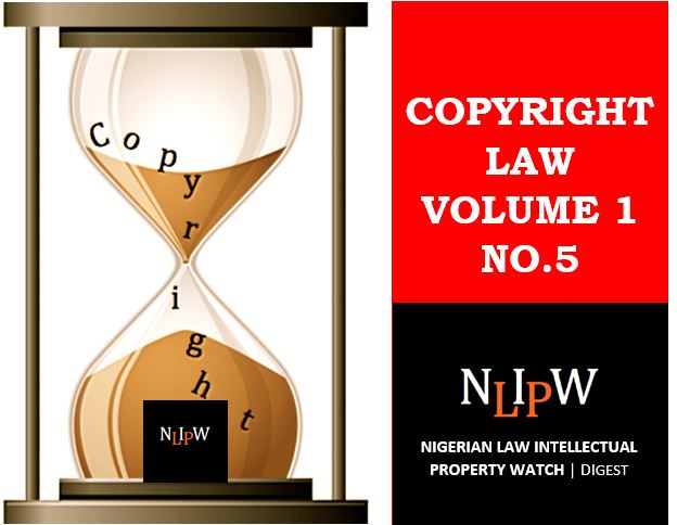 Copyright Vol. 1 No. 5