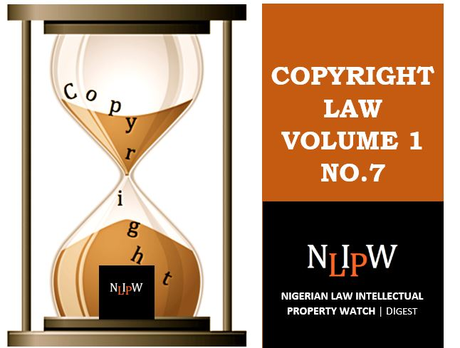 Copyright Vol. 1 No. 7