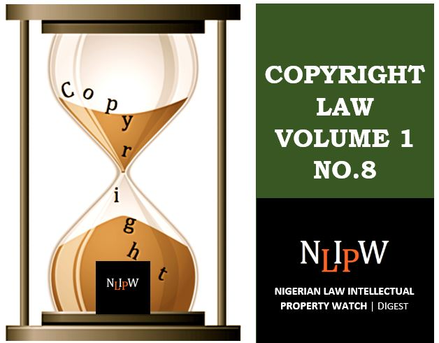 Copyright Vol. 1 No. 8