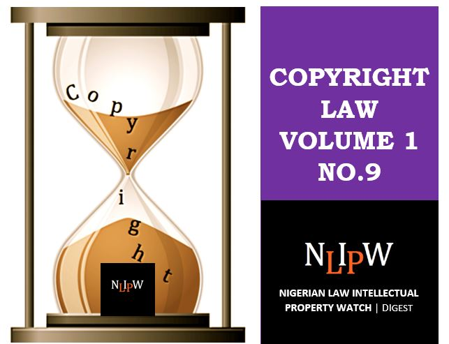 Copyright Vol. 1 No. 9