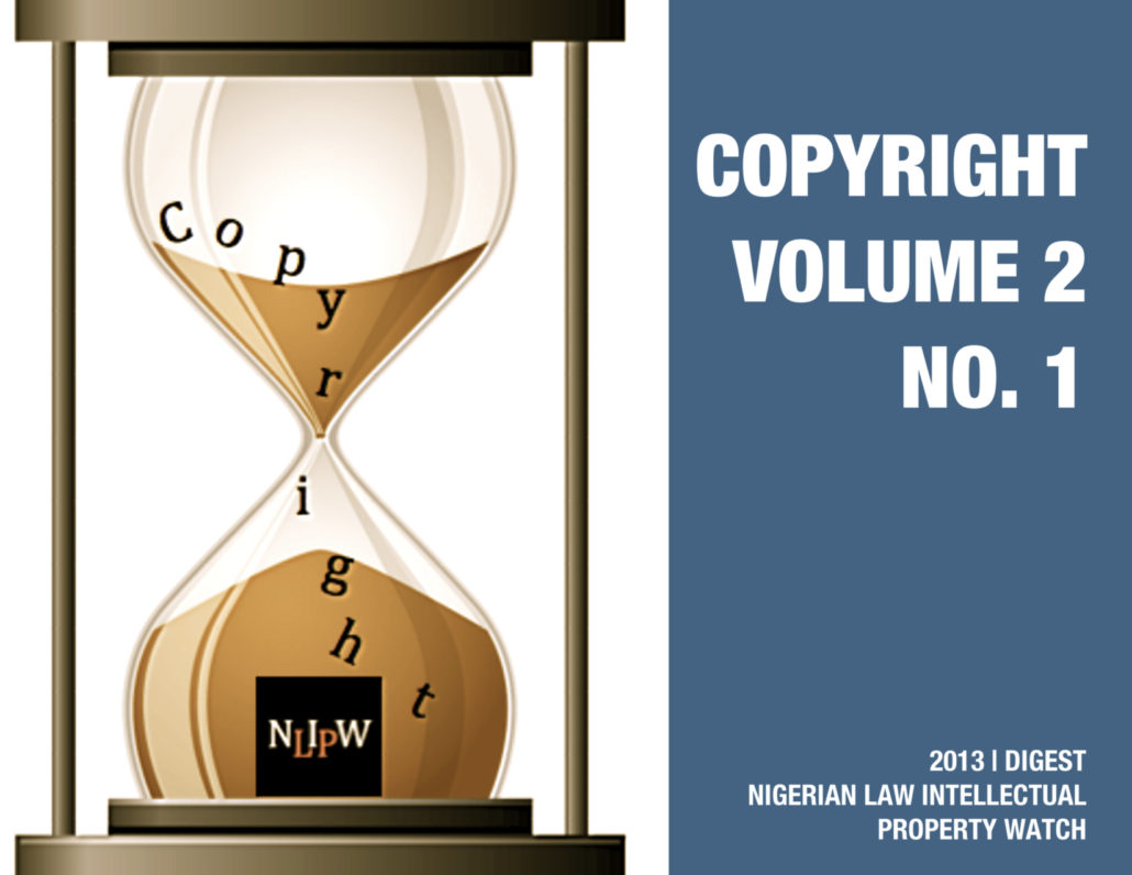 Copyright Vol. 2 No. 1
