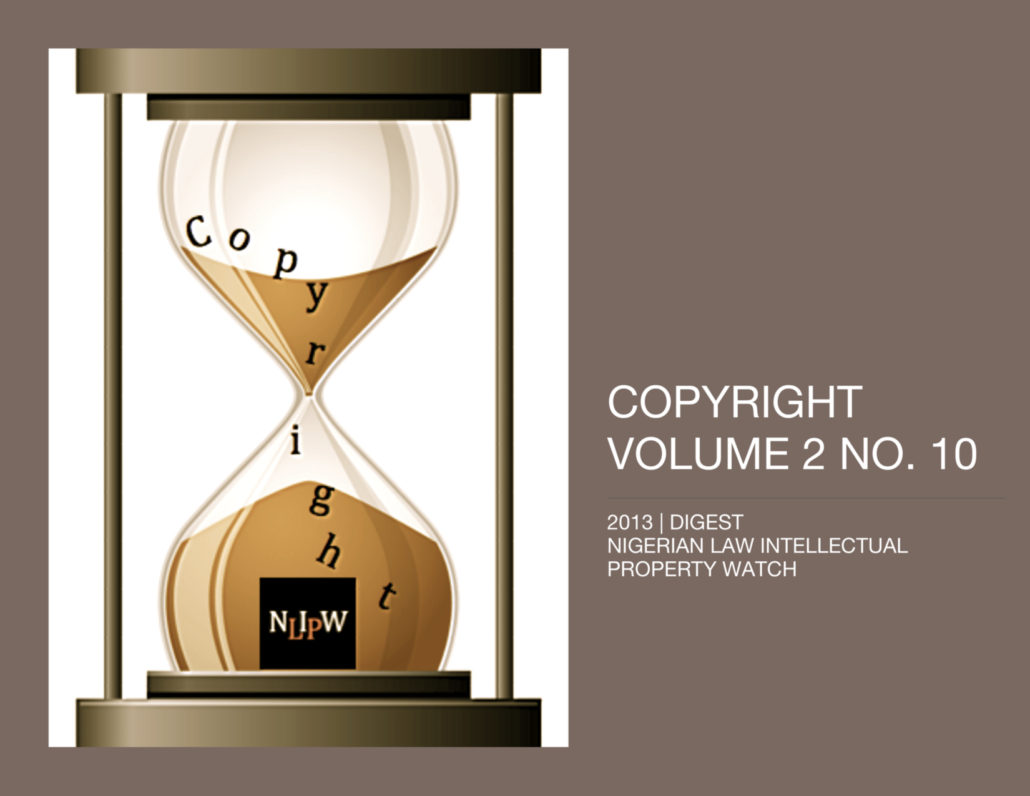 Copyright Vol. 2 No. 10