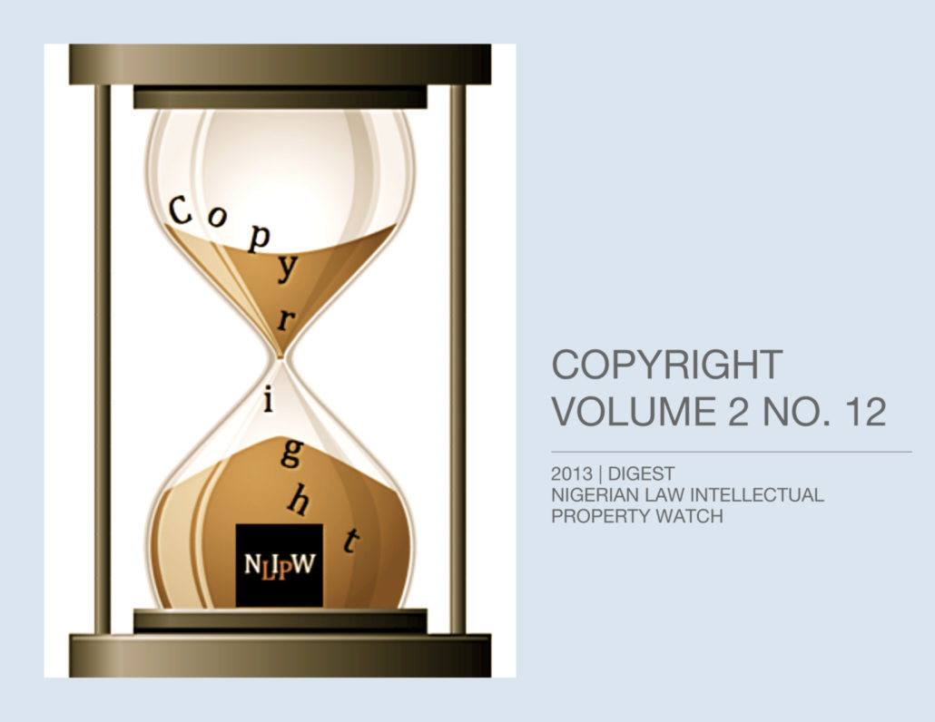 Copyright Vol. 2 No. 12