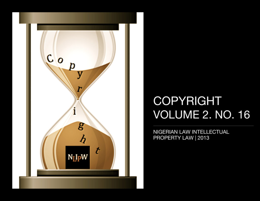 Copyright Vol. 2 No. 16