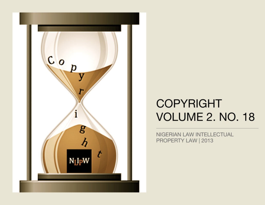 Copyright Vol. 2 No. 18