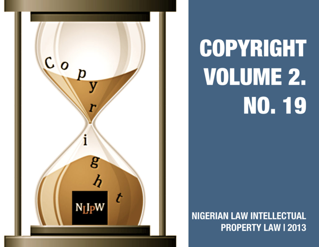 Copyright Vol. 2 No. 19