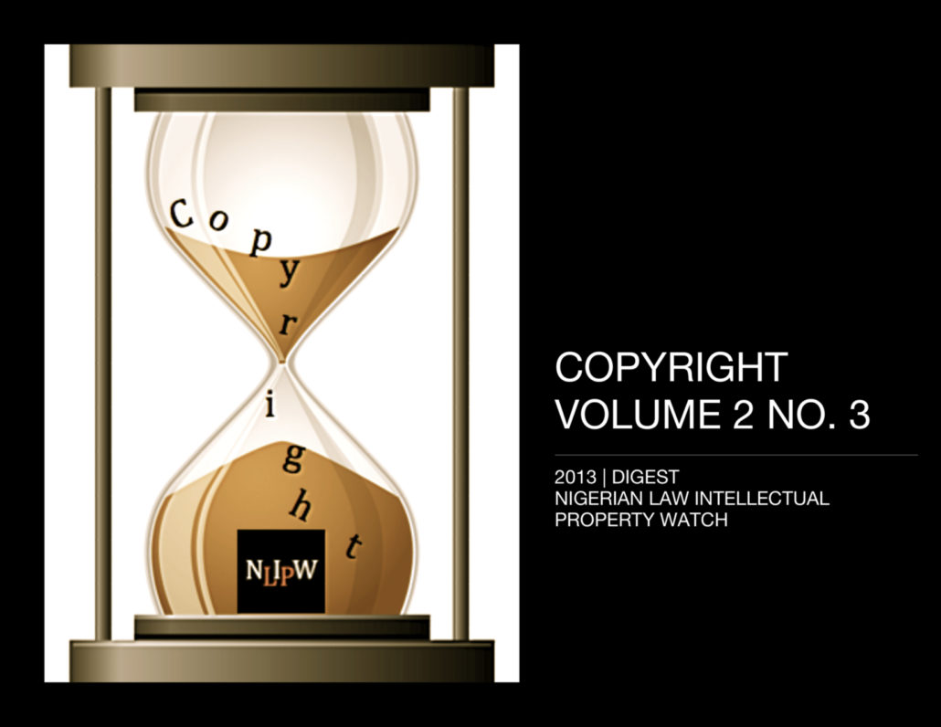 Copyright Vol. 2 No. 3
