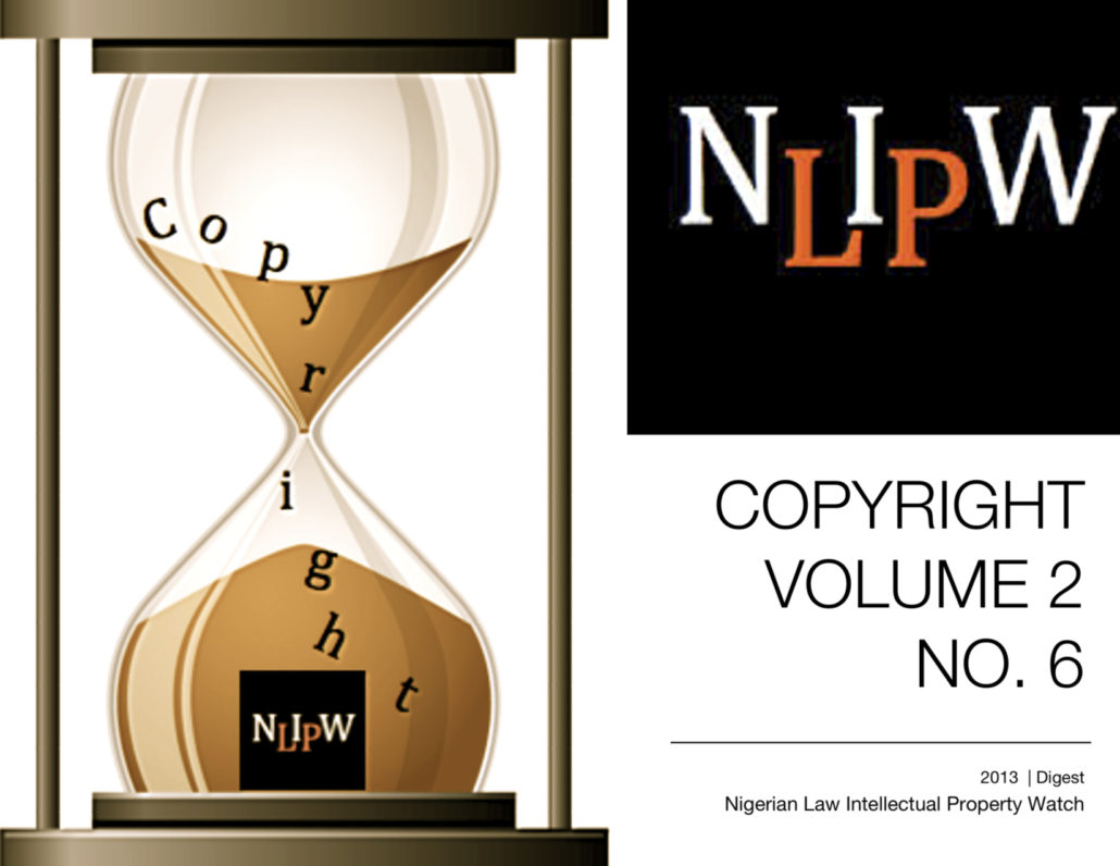 Copyright Vol. 2 No. 6